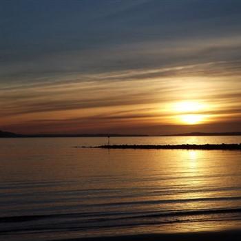 Scenic Sunsets in Llandudno