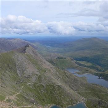 Welsh Mountain Panoramic