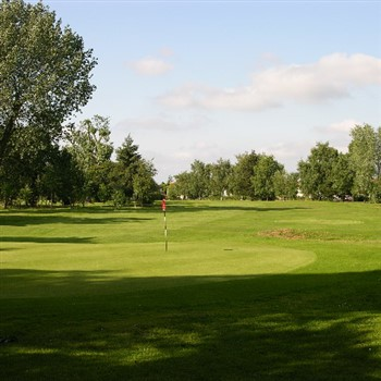 A Chip at Calderfields Golf Club