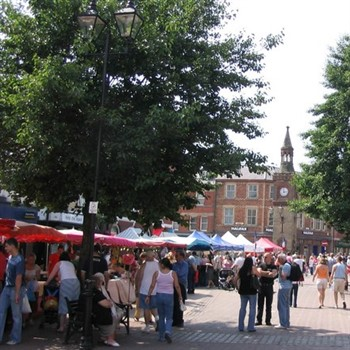Ormskirk Market & Southport
