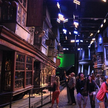 Harry Potter Studio & The Bright Lights of London